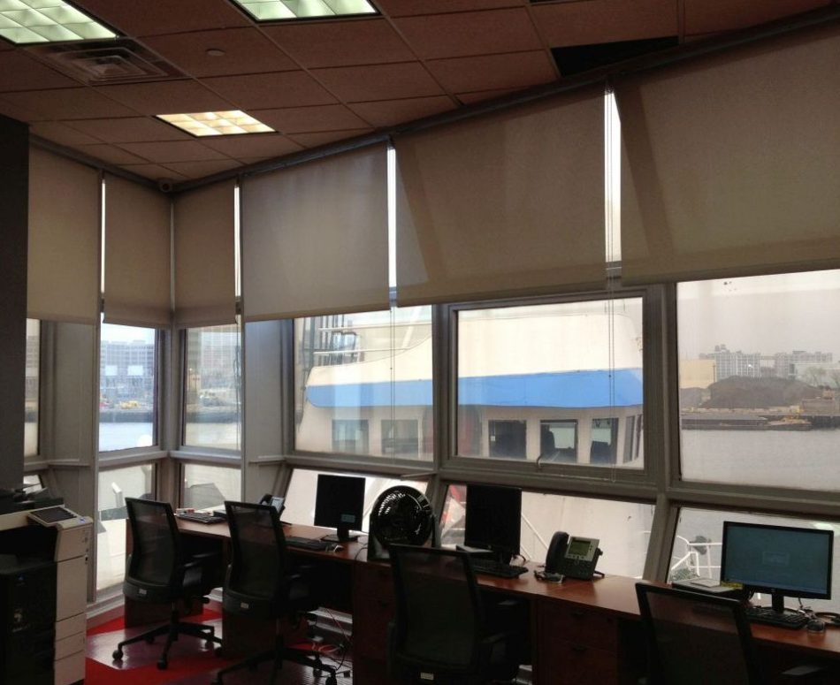 Roller-shades-for-Urge-Mobile-Brooklyn-Navy-Yard-Brooklyn-NY high rise building mobile-company