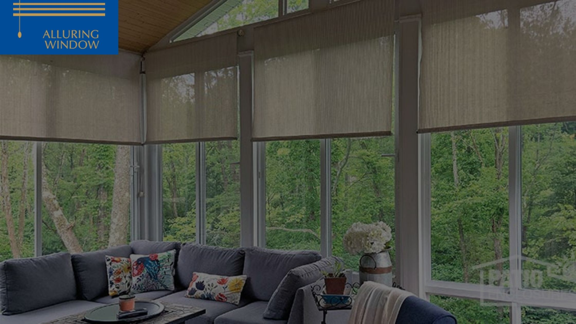 Motorized Window Blinds for Your Sun Room
